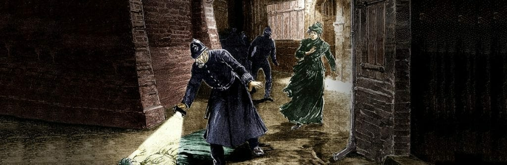 Jack the ripper old crime