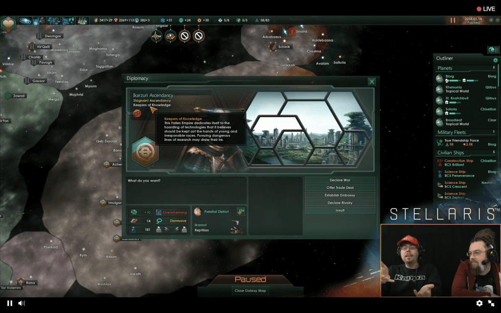 Stellaris Streams