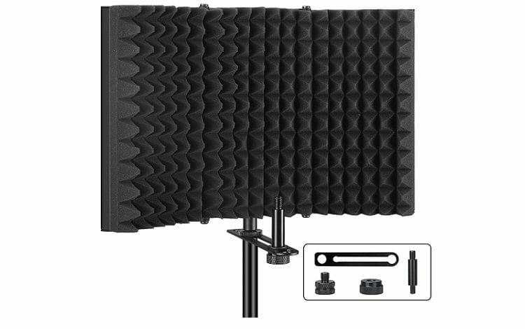 Aokeo Professional Studio Recording Microphone Isolation Shield Pop Filter Review