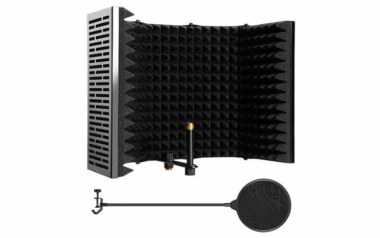 Microphone Isolation Shield, AGPTEK 5 Review
