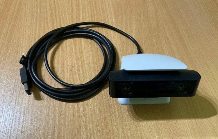 PS5 camera with USB cable