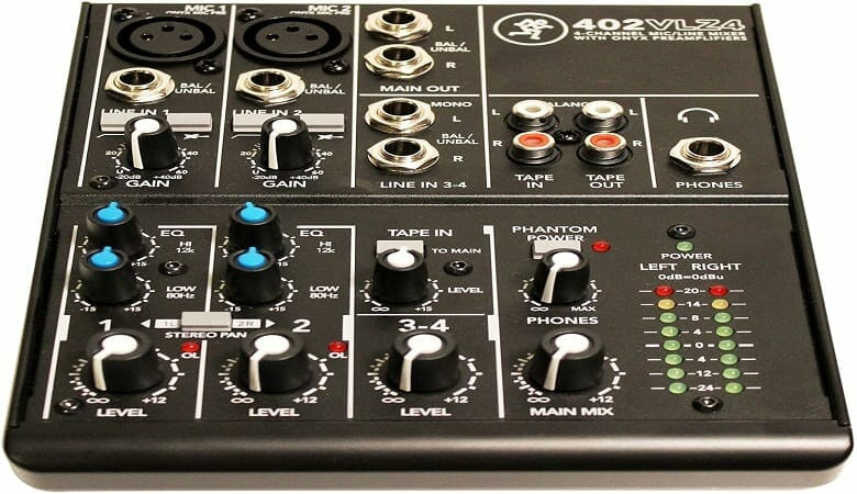 audio mixer for podcast