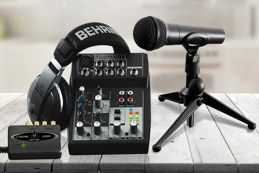 mixer for podcasting