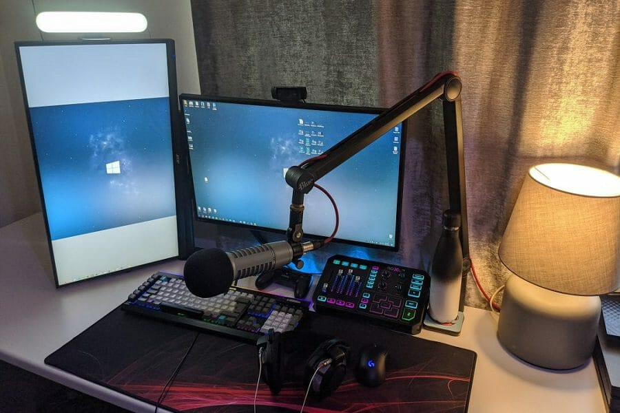 twitch streaming audio setup tips
