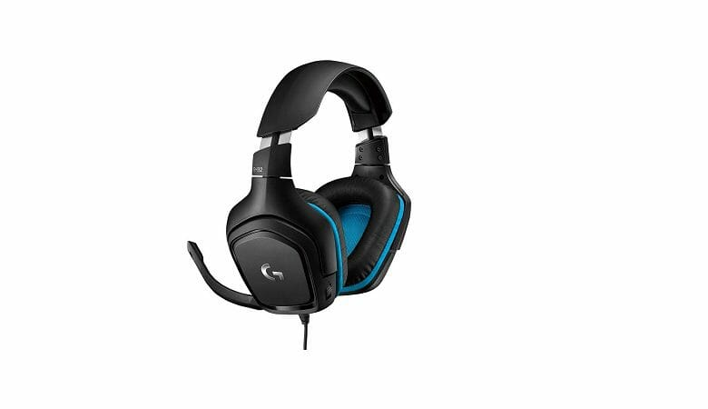 Best Overall: Logitech G432 Surround Sound Wired PC Gaming Headset